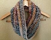 Crochet Scarf PATTERN - PDF Pattern - Easy Crochet Pattern - Beginner Crochet Pattern - Bulky Scarf Pattern - Infinity Scarf - Cowl Pattern