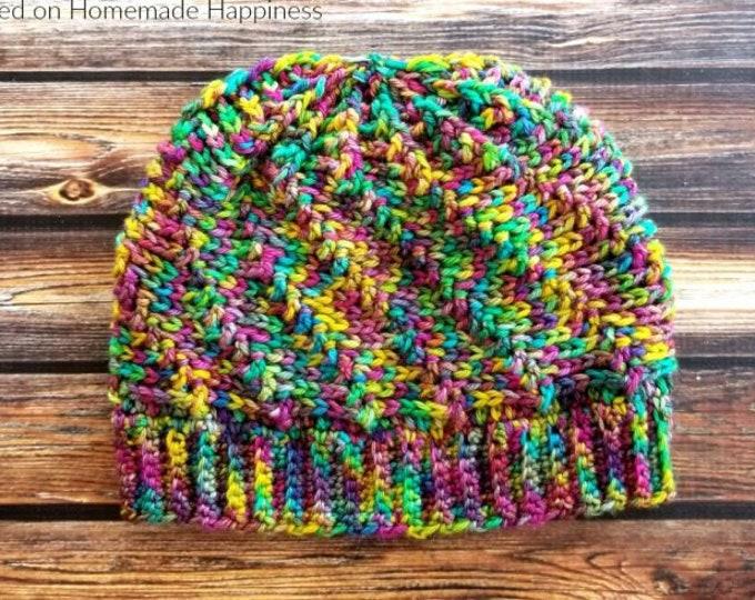 Vertigo Beanie Crochet Pattern