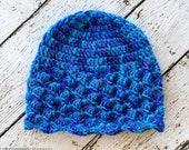 Shell Beanie Crochet Beanie PATTERN