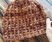 Crochet Beanie PATTERN - Crochet Hat Pattern - Crochet Toque Pattern