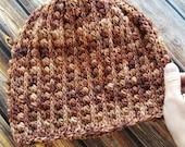 Gilded Beanie Crochet PATTERN