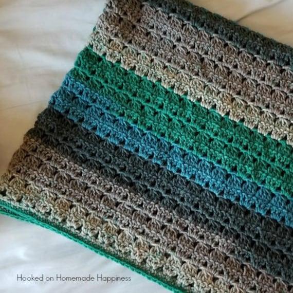 Baby Blanket Crochet Pattern Crochet Afghan Pattern Etsy