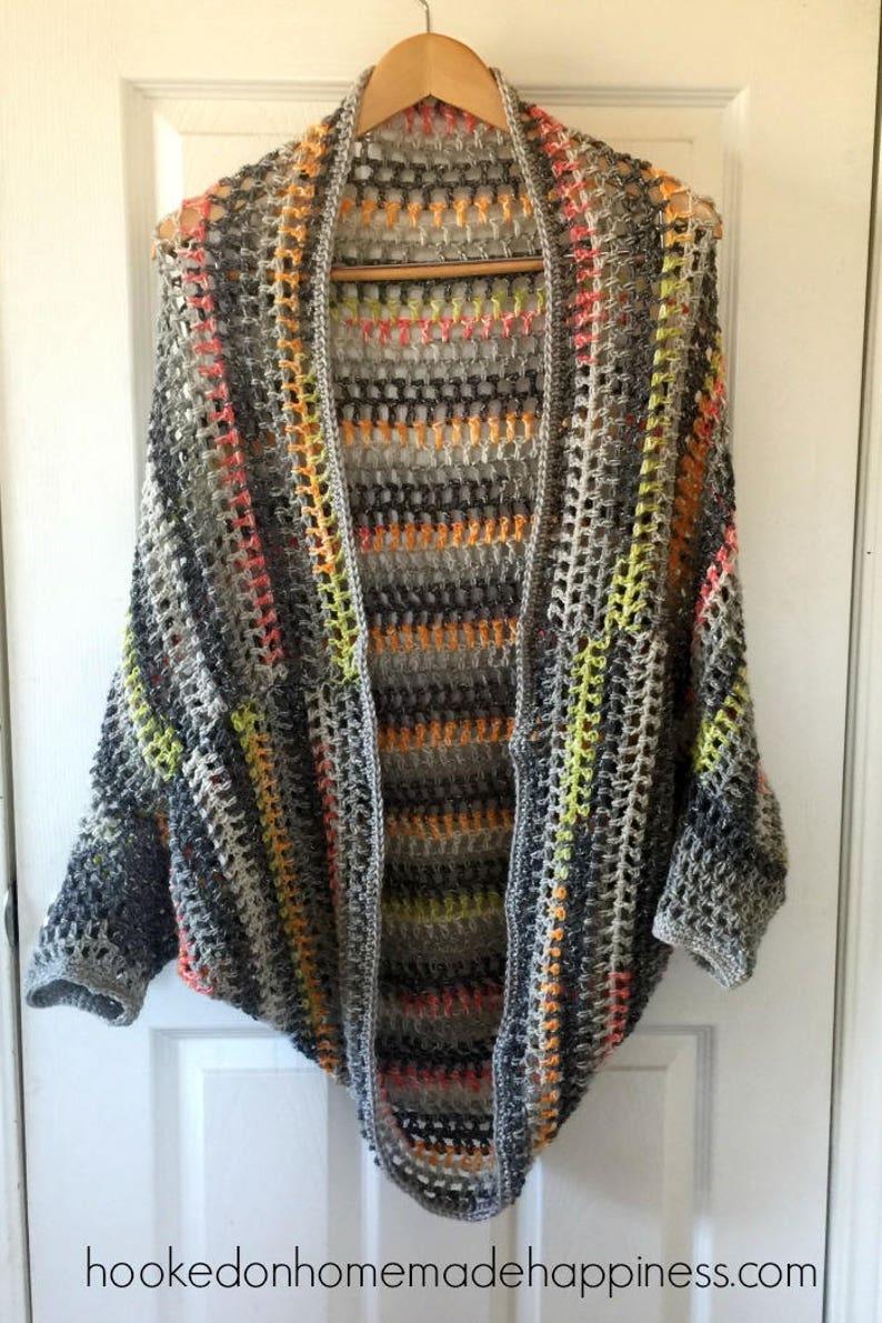 Cocoon Sweater Crochet Pattern Easy Crochet Pattern Etsy