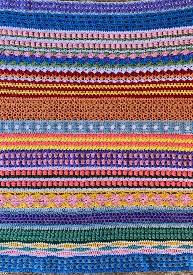 Scrapghan Crochet Blanket Pattern image 0