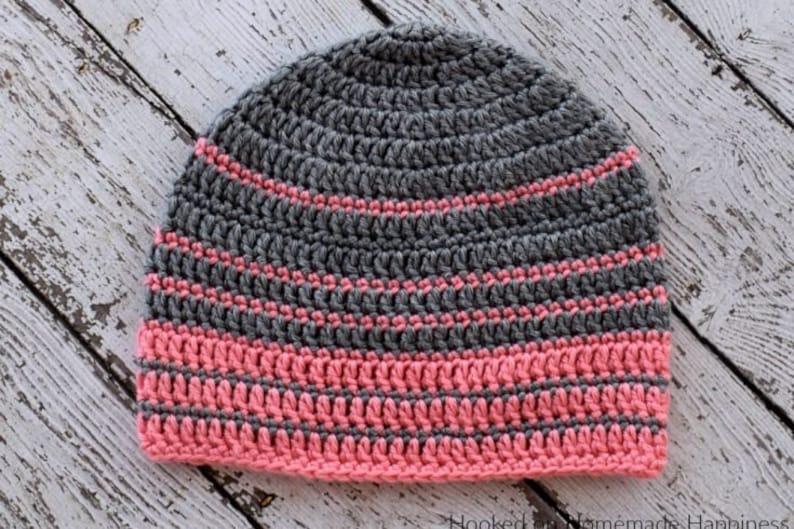 c671b253308 Crochet Beanie PATTERN Crochet Hat Pattern Crochet Toque