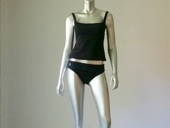 1980s Vintage Tankini, Ralph Lauren Polo Swimsuit… - image 2