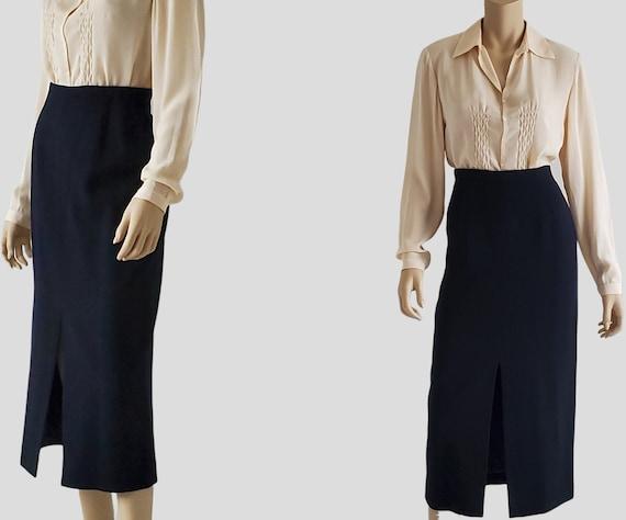 1990s Vintage Jones New York High Waisted Skirt Sp