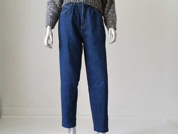 80s Vintage High Waisted Baggy Jeans Sasson Jeans
