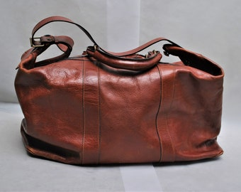 1d2937b2d83b Big leather bag | Etsy
