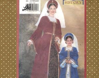 Modello vintage Butterick  Making History  femminile (solo) cucito  5655 276a8a1349f