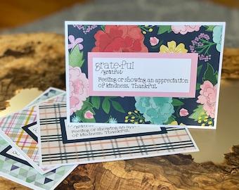 Grateful Employee Appreciation Greeting Card | Employee Thank You Card | Grateful Greeting Card | Employee Appreciation Gift | Grateful Card