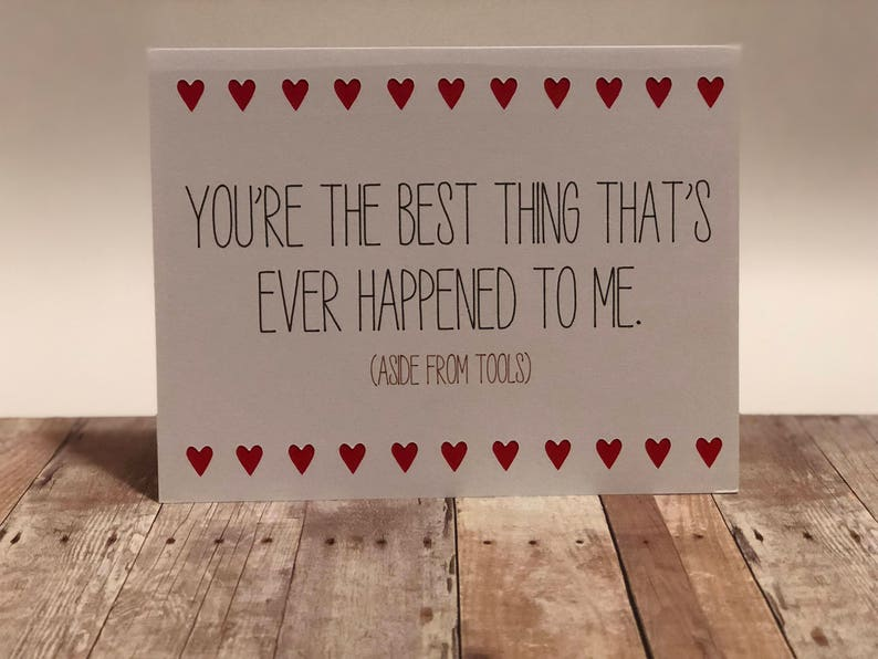 Naughty Valentine Greeting CardYou're the best thing image 0