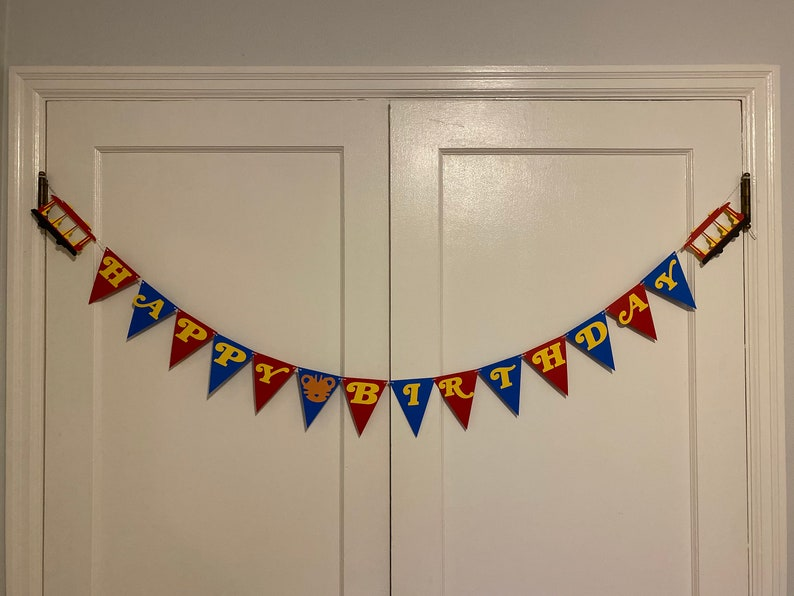 Daniel Tiger Inspired Birthday Banner image 0