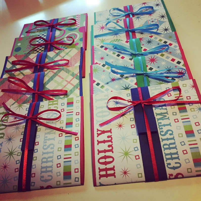 Christmas Gift Card Holders image 0