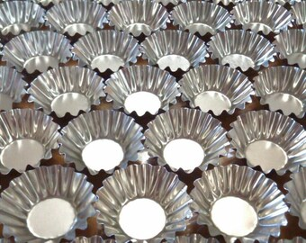 Aluminum Tartlet Molds, Molde tartaleta de aluminium