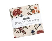 Prairie Dreams Charm Pack 9650PP Moda 42 Precuts 5 quot by 5 quot 100 High Quality cotton fabric Designer Kansas Troubles Quilters
