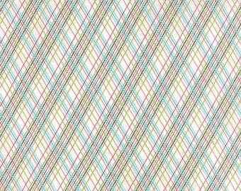 Moda Plaid fabric from the Juniper Berry collection