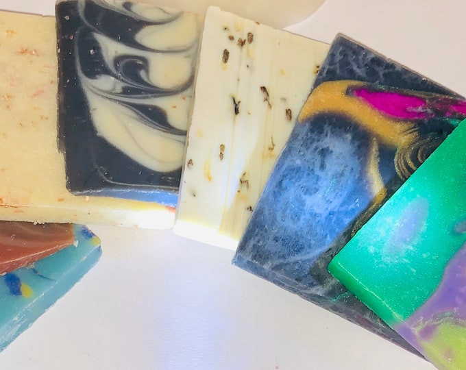 6 - 1 Oz Soap Samples/ Guest Soap