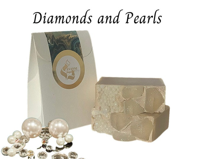 Diamonds and Pearls Soap Bar