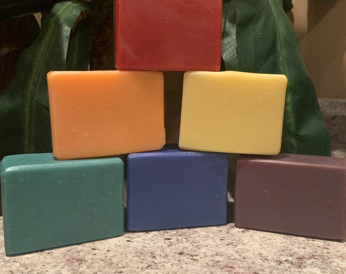 Louisiana Snowball Collection - For Her: Orange, pineapple, Grape, Bubblegum, Spearmint, & Tiger Blood Scented Soaps