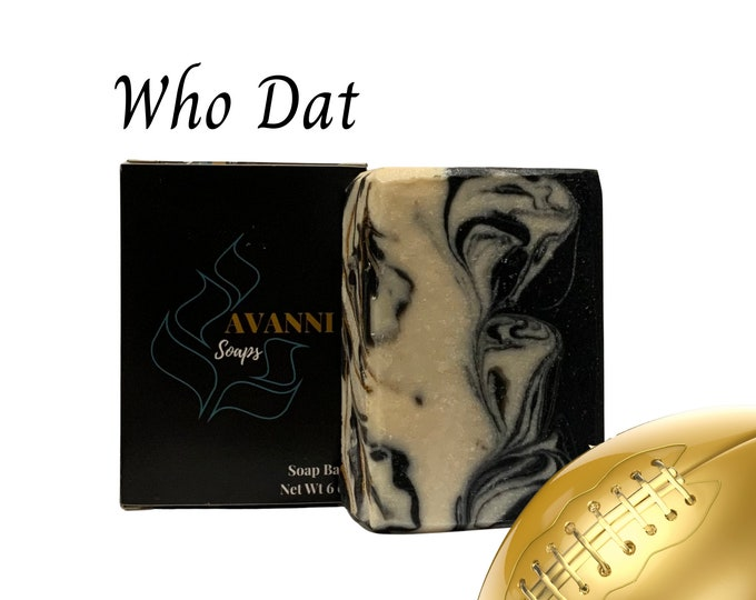 Who Dat Soap Bar - For Him