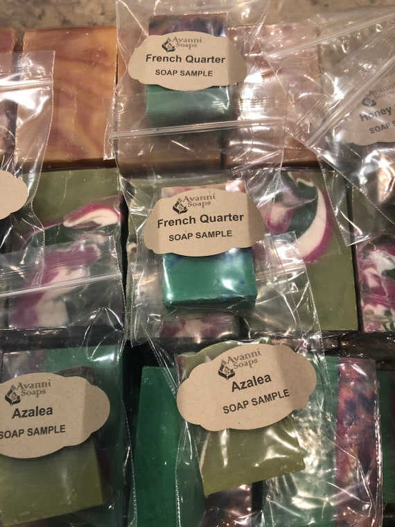 MInimum of 6 - 1 Oz Soap Samples