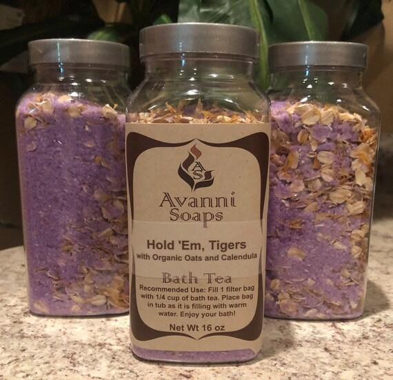 Hold 'Em Tigers Bath Tea
