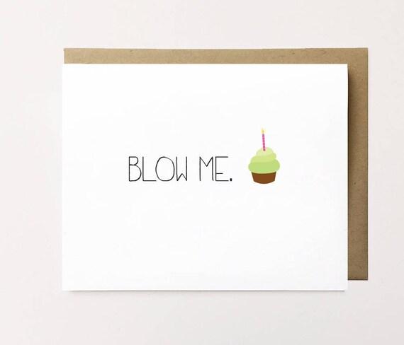 Funny Birthday Card Naughty For Boyfriend