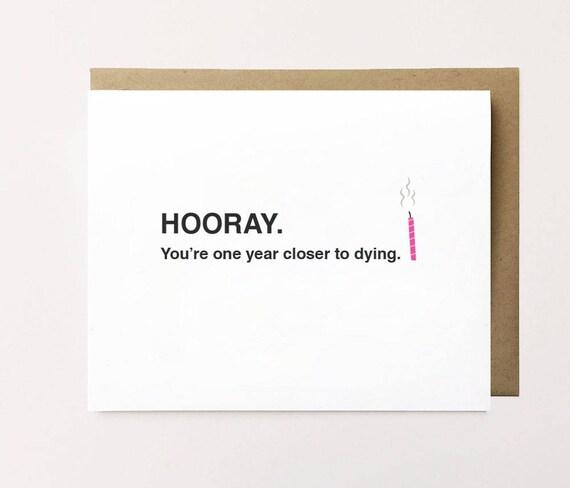 Funny Birthday Card Card For Ex Cheeky Birthday Card Etsy