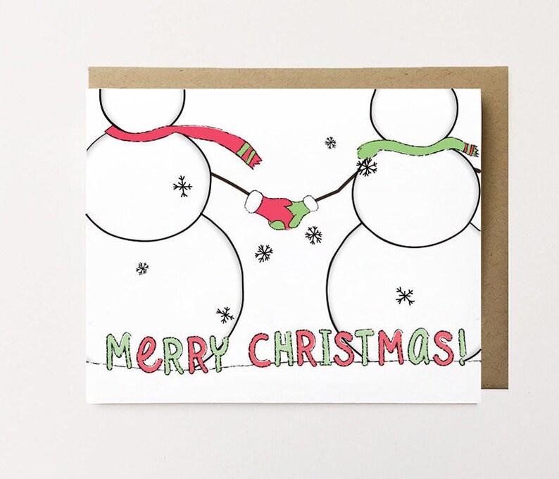 christmas love card cute christmas card for boyfriend cute