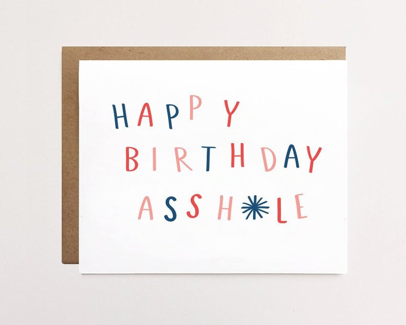 Funny Birthday Card Brother Sibling