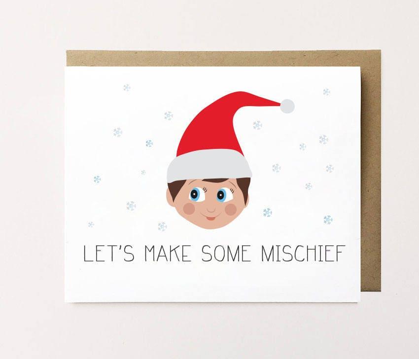 Cute Christmas card Boyfriend Christmas card Girlfriend   Etsy