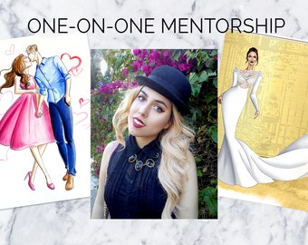 Learn Fashion Illustration and Design   Private Lessons in Los Angeles or Online   Creative Business Mentorship (Limited spaces per month)