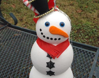 Snowman purse snowman decorations christmas decoration holiday handbag two in one