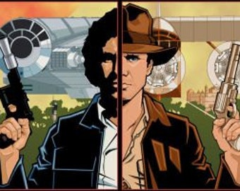 SPLIT PERSONALITIES - Han Solo and Indiana Jones
