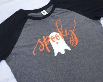 c553430b150 Spooky Halloween Shirt Women - Plus Sizes Available - Halloween Costume  Women
