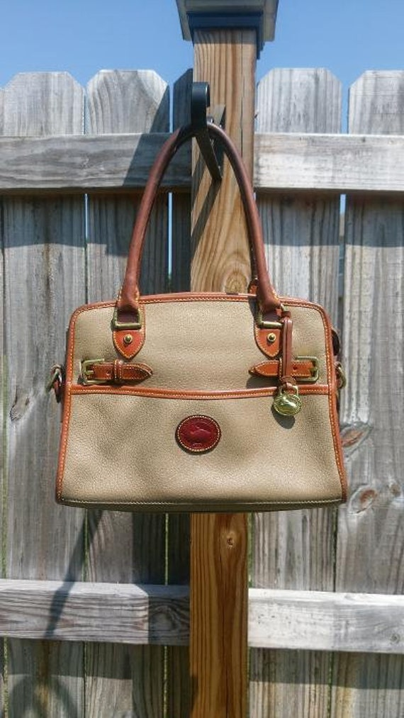 Vintage Dooney and Bourke Wheat