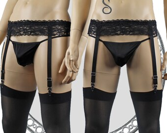 76bf808bb4c Mens Lace Garter Belt