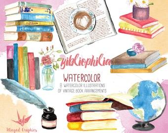 Watercolor book | Etsy
