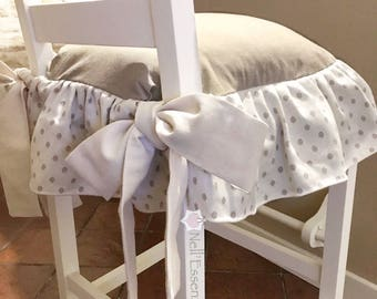 Pillow for stool shabby from island