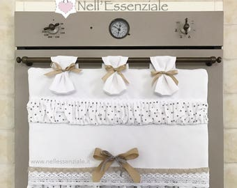 Copriforno coordinated white Shabby Chic to your kitchen