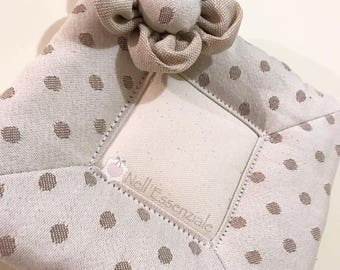 Shabby pot holder with wide frame