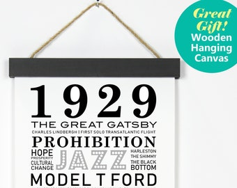 90 Year Old Gift Birthday For 90th Poster 1929