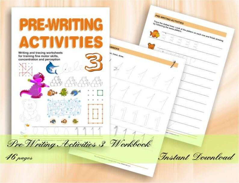 Pre-Writing Activities for Preschool & Kindergarten  46 image 0