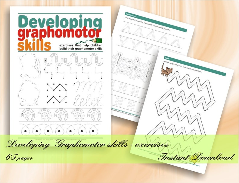 Developing Graphomotor Skills  exercises that help children image 0