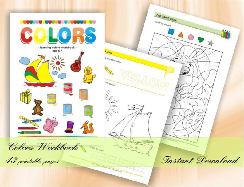 Colours  learning colours for preschool children  Download image 0