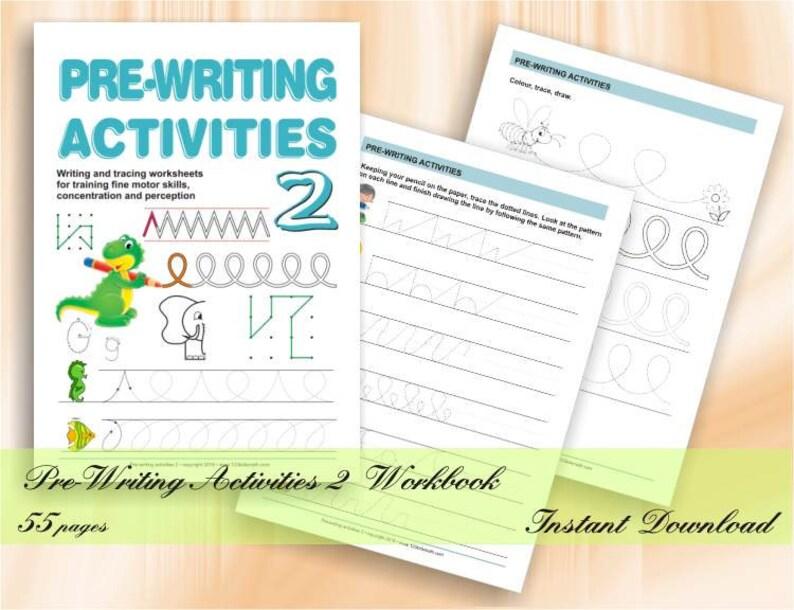 Pre-Writing Activities for Preschool & Kindergarten  52 image 0