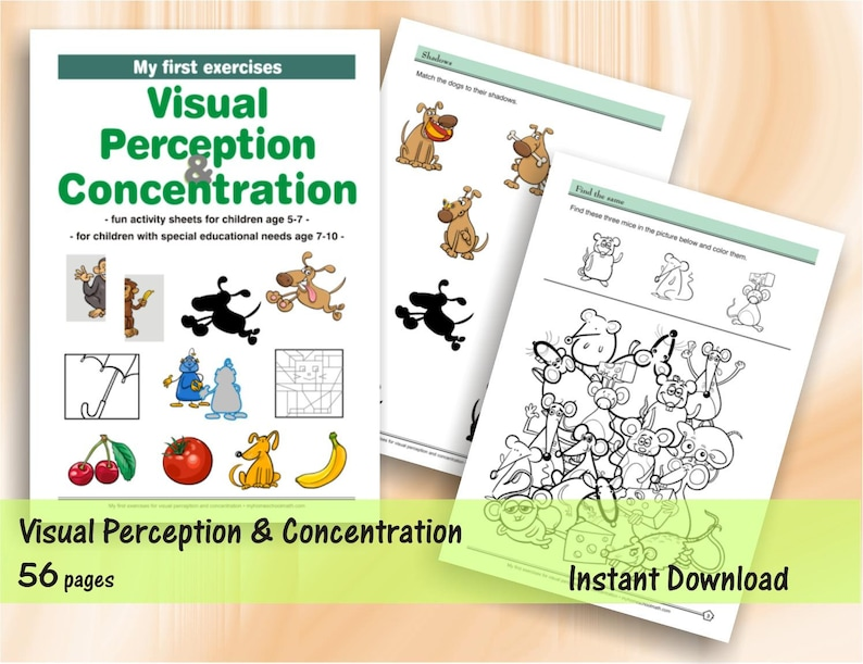 My first exercises for visual perception and concentration  image 0