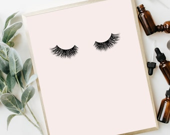 Lashes Poster | Beauty