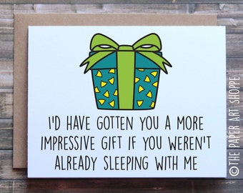 Funny birthday Card, birthday card for wife, birthday card for husband, birthday card for girlfriend, birthday card for boyfriend